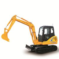 Cheap New Type 6 Ton Hydraulic Cralwer Excavator