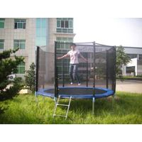 outdoor round juming trampoline(SX-FT(E))
