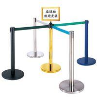 Queue pole,stanchion,hotel railing stand,crowd control stanchions, barrier system,retractable belt b thumbnail image