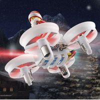 JJRC H67 Flying Santa Claus 2.4G 4CH 6-Axis Headless Mode Toy Brick RC Quadcopter