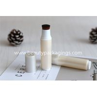 Vacuum Refillable Body Compact Powder Brush With Cosmetic Bottle