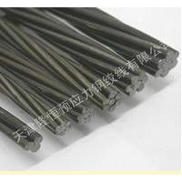 UNBONDED POST TENTIONED CONCRETE SEVEN WIRE STEEL STRAND