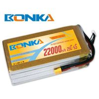 Bonka-22000mah-5S1P-25C muticopter lipo battery