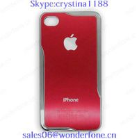 for iphone4/4s mobile phone case with aluminum material