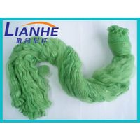 Recycled Green Color Polyester Tow