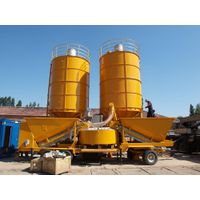 Used mobile concrete mixing plant Sumab M-2200