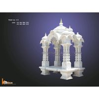 HANDICRAFT MARBLE STONE HOME TEMPLE Z-3