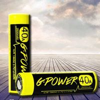 Gpower 18650 high drain 3.7v battery 2600mAh 40A