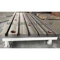bending flat floor plates for milling machine