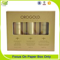 2017 custom printed packaging cosmetic paper box