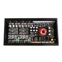 High Power Car Amplifier 120W 4 Channel Competition Car Audio Amplifier Mono Block Class AB