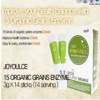 [15 Organic Grains Enzyme]Jo-Yul-Che/Amino acid/Vitamin/ Mineral/Adlay/Brown Rice/Red beans/Millet/g