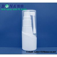 Oral spray with PE bottle