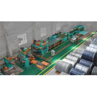 High Automatic Aluminum Coil Start-Stop Shear Cut to Length Line Machine thumbnail image