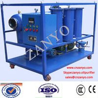ZYL China newly tech vacuum lube oil purifier