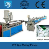 PPR/PP/PE drain pipe machinery CE/ISO