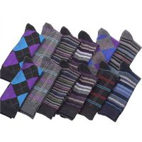 Men's Socks, Dress Socks, Fashion Socks, Cotton, Bamboo, Lycra, Coolmax, Wool, Acrylic, Terry, Jacqu