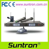 Suntron UHF Diversity Wireless Conference Microphone