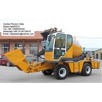 Auto Charging/Self Loading Concrete Mixer Truck