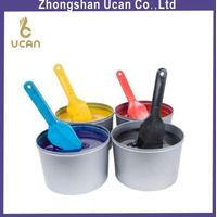 1KG 2KG 2PC Normal Ink Sliver Tin Cans with Plastic Blister