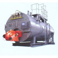 WNS series fuel oil or gas full auto hot water boiler