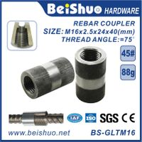M16 High Quality Rebar Connector /Rebar Joint /Rebar Coupler