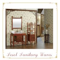 Rosewood Bathroom Cabinets Furniture with side cabinet