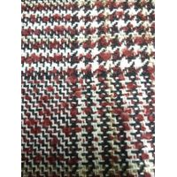 2017 hot sales fashionable woven houndstooth wool fabric 40%wool,20%acrylic,40%ployester
