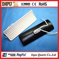 infrared ceramic heater panel and element