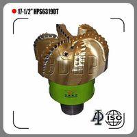 "17-1/2"" Diamond PDC Drill Bits S423 HPS6319DT PDC Bits"