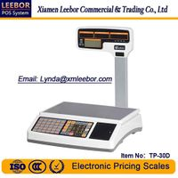 Electronic Price Computing Receipt Scale, Supermarket Bill Printing Counting Retail Weighing Scales thumbnail image