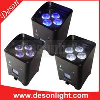 4x6in1 RGBW A UV Wifi battery remote control dmx led par LP-229 thumbnail image