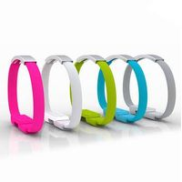 Cool Bracelet USB cables with Metal Buckle