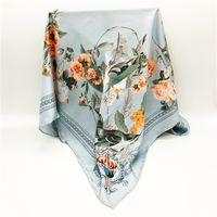 Hot sale 100% Silk Scarf by Customized Digital Printing for Woloesaler