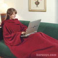 Snuggle Blanket With Sleeves