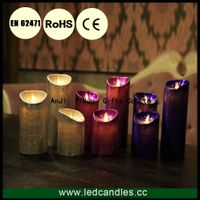 New Product Remote Control Wax Flickering LED Candle