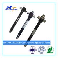 698/700-2700MHz 2/3/4 way N type Female indoor and outdoor waterproof cavity Power Splitter / Divide