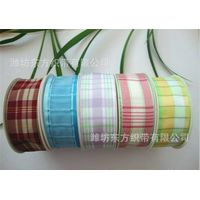 Color woven ribbon