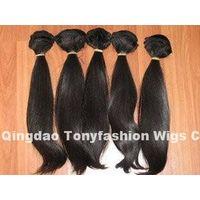 Peruvian Virgin Hair Extension Weaving Weft 100% Human Hair