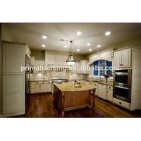 American style oak solid wood kitchen cabinet