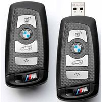 carbon auto key for BMW, full carbon fiber made by xmcomate