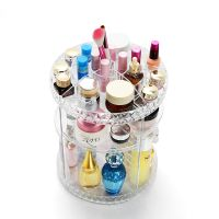 360 Spinning Makeup Organizer DIY Detachable Rotating Cosmetic Holder