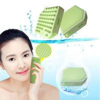 2014 New Arrival Silicone Makeup Brush Cleaning Face Brush thumbnail image