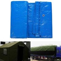 Heavy Duty Reinforced Poly Tarp Multi Purpose Tent Cover