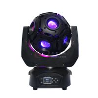 New Arrival 12pcs RGBW Led Beam Football Moving Head Light/Led DJ Disco Ball thumbnail image