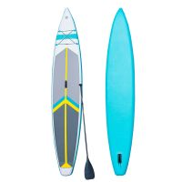 Inflatable surfboard