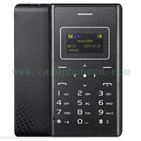 AIEK Card Phone X7 with LED Torch