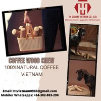 dog toy 100% natural coffee