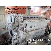 "USED ""YANMAR"" MODEL S185-ST MARINE DIESEL ENGINE OF 550PS/900RPM"