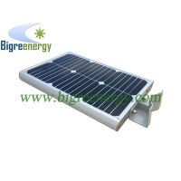 Solar lamp with motion sensor 12W